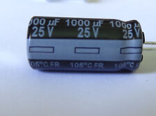1 pc  EEU-FR1E102B Electrolytic Capacitor, 1000uF, 25V, 105