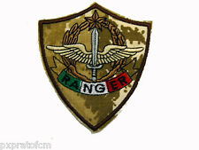 Patch Ranger Alpini Paracadutisti Esercito Italiano Mimetica Vegetato Desert Top