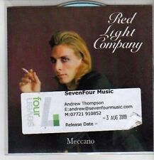 (CQ19) Red Light Company, Meccano - 2009 DJ CD