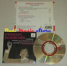 CD HERMANN SCHERCHEN Conducts DVORAK 104 BRAHMS 90 ERMITAGE lp mc dvd