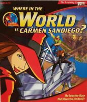WHERE IN THE WORLD IS CARMEN SANDIEGO 1996 +1Clk Windows 10 8 7 Vista XP Install