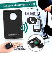 MINI MICROSPIA AMBIENTALE GSM TELEFONO SIM CHIAMA PIR A9 CIMICE RILEVA MOVIMENTO