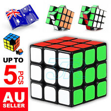 Upto 5x Magic Cube 3x3x3 Super Smooth Fast Speed Puzzle Rubix Rubics Rubik Toy
