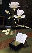 "ROYAL WORCESTER ""MENNECY"" FLOWER FIGURINE BY RONALD VAN RUYCKEVELT # 296 OF 500"