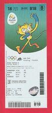 Orig.Ticket  Olympische Spiele RIO DE JANEIRO 2016 / RINGEN 18.08. - 3 Finals !!