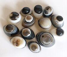 L'énergie reiki facturés unique agate pierres cristal Shiva yeux pour la protection de grandes