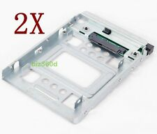 2x HP 2.5 SSD to 3.5 SATA Adapter Converter Tray SAS HDD Brackets Bay 654540-001