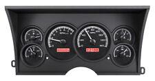 1988-94 Chevy GMC C/K 1500 2500 Dakota Digital Black Alloy / RED Dash Gauge Kit