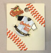 Baltimore Orioles Jersey #20 Number Retired 1972 Pin MLB Game Souvenir New