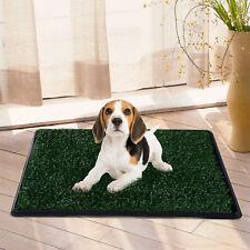 Welpentoilette Kunstgras Hundetoilette Welpenklo Hunde WC 51x64cm Grün