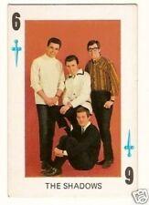 The Shadows Pop Music Group Vintage 1960s Spanish Card