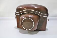VINTAGE Original Hard Leather ZEISS IKON Camera Case 23.0007 Made in Germany