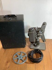 Vintage Revere 8mm Projector W/Case Motor And Light work