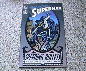 SUPERMAN : SPEEDING BULLETS    DC  ELSEWORLDS PRESTIGE FORMAT