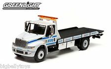 WHITE International Durastar 4400 NYPD Tow Truck flatbed traffic rollback