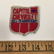 Chevrolet Patch Embroidered , Capitol Chevrolet All Americans - workwear