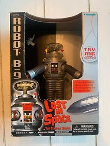 """LOST IN SPACE Robot B-9 Small 7"""" Collector Edition  NIB"""