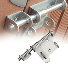Staple Home Anti-theft Gate Lock Door Latch Stainless Steel Slide Bolt Hardware