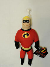 """NEW W/TAGS DISNEY  THE INCREDIBLES- WINDOW CLING   MINI PLUSH 9""""    PARTY"""