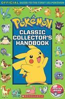 Pokemon: Classic Collector's Handbook by Scholastic,, NEW Book, FREE & Fast Deli