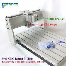 3040 Desktop 52mm Bracket CNC Router Engraving Machine frame 1204 Ballscrew Kit