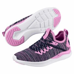 PUMA Ignite Flash Evoknit Jr Fitness Training Lifestyle Shoe Sneaker New Boxed