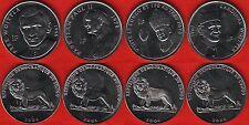 Congo Dem. Rep. set of 4 coins: 1 franc 2004 UNC