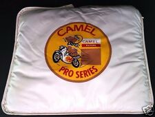 CAMEL FILTERS AMA Pro Series Motorcycle Racing VINTAGE Very Cool Seat Cushion