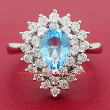 Topaz Cubic Zirconia Not Enhanced Fine Jewellery