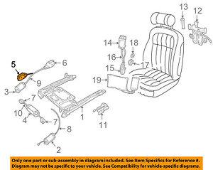 JAGUAR OEM 95-03 Vanden Plas Seat Track-Gear Assembly GNA4714AA
