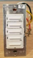 Leviton LTB12 20A Countdown Timer Switch, White