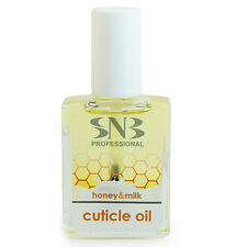 Snb Professional Manicure Care Cuticle Oil Honey&Milk 0.5oz/15ml Nail Treatments