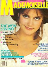 Mademoiselle Magazine Jan 1981 Carey Lowell Amy Irving Vintage  80s Fashion Ads