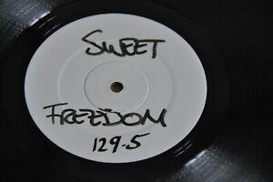 "Michael McDonald–Sweet Freedom(house rmx) Single Sided White Label 2002 12""Vinyl"