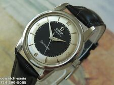 1956 Vintage OMEGA Seamaster Automatic, Stunning 2 tone Dial, Serviced &Warranty