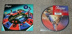 "SLEEPER STATUESQUE  /  NICE GUY EDDIE (PICTURE DISC) 1996 UK 2x7"" LTD, INDOLENT"