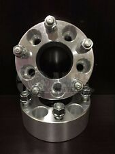 "Jeep Grand Cherokee 99-13 Wheel Spacers 1.5"" Adapter 2pc Hub 5 Bolt Aluminum 5x5"