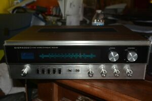 VINTAGE SHERWOOD S-7210 STEREO DYNAQUAD RECEIVER WORKING WOW!!!!