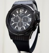 Rotary Mens Watch Black Chronograph RRP £250 Genuine Boxed Brand NEW