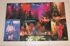 Poster Metal Hammer Vintage DIO Sacred Heart Tour 1986 RAR 81x54,5