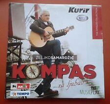 CD Zeljko Samaradzic Kompas Za Ljubav The Singles Collection Digipak City Record