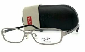 Ray Ban RX8686 1097 Gunmetal Black / Demo Lens 54mm Eyeglasses