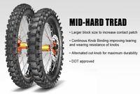 PAIR METZELER MC360 Off Road/MX/Enduro Road Legal Tyres 80/100-21 & 110/100-18