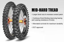 PAIR METZELER MC360 Enduro/MX/Off Road 80/100-21 & 100/90-19  Road Legal Tyres