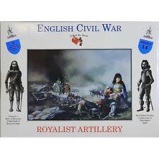 SOLDATI IN PLASTICA DA COLORARE ENGLISH CIVIL WAR ROYALIST ARTILLERY 68DO