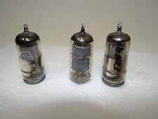 3 tubos ech42 Telefunken Valvo mini vatios rimlock tubes examinado valves bl230