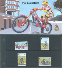 Isle of Man 1997 MOTO TRIAL Set & presentazione pack-mnh