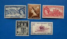 New Zealand Stamps, Scott 280-284 Complete Set MNH