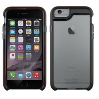 NEW TECH21 CLASSIC FRAME 4.7 IPHONE 6 6S SLIM HARD CASE COVER SMOKEY CLEAR BLACK