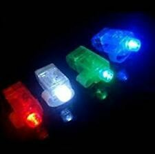 40 Light Up Finger Lights - LED Party Favor Laser Beam Rings for Parties Raves